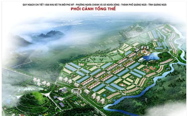 Kiến nghị tính lại tiền sử dụng đất Dự án KĐT mới Phú Mỹ (Quảng Ngãi) của HUD