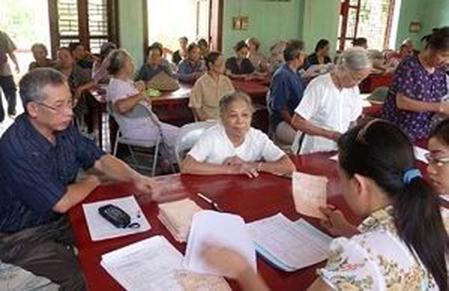 Nâng lương hưu, trợ cấp từ 1/1/2015