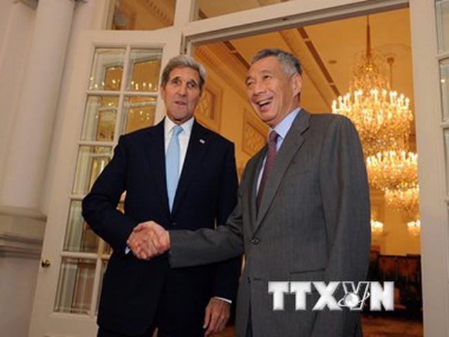 Ngoại trưởng Mỹ khẳng định sẽ không làm chậm nỗ lực đàm phán TPP