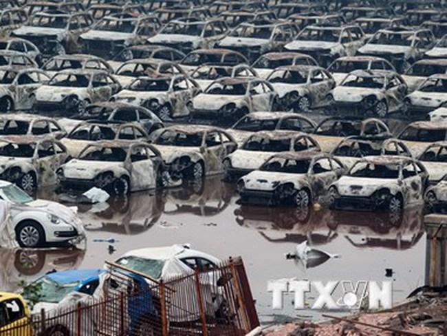 """Vụ nổ Thiên Tân có thể """"hãm phanh"""" thị trường ôtô Trung Quốc"""