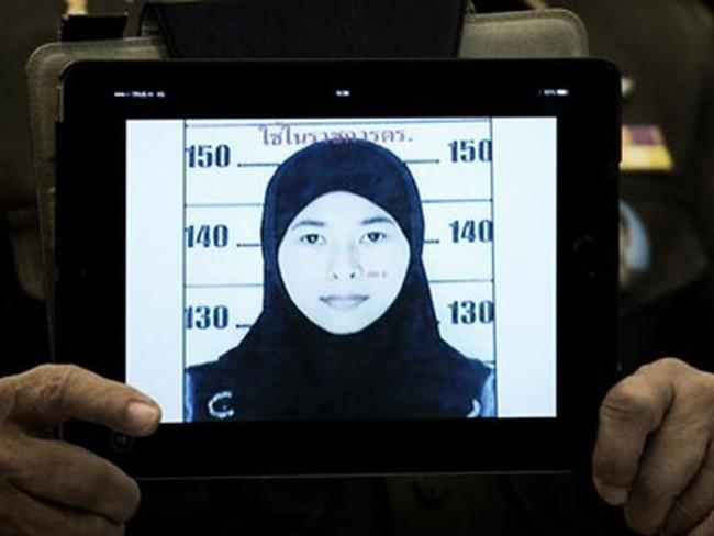 Nữ nghi phạm vụ đánh bom ở Bangkok liên hệ với nhà chức trách
