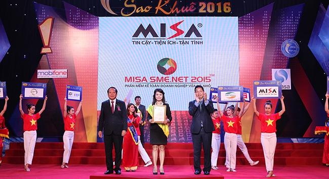Hai phần mềm của MISA đạt danh hiệu Sao Khuê 2016