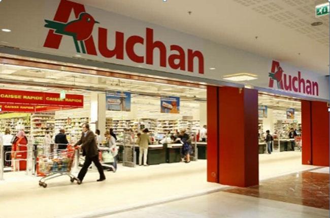 """Tập đoàn bán lẻ hàng đầu thế giới Auchan (Pháp) """"tấn công"""" thị trường miền Bắc"""