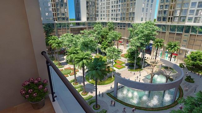 Eco-Green City xây dựng vượt tiến độ, chính thức cất nóc tòa CT4