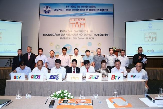 VIETNAM - TAM ký kết thỏa thuận hợp tác với 7 đơn vị đài truyền hình