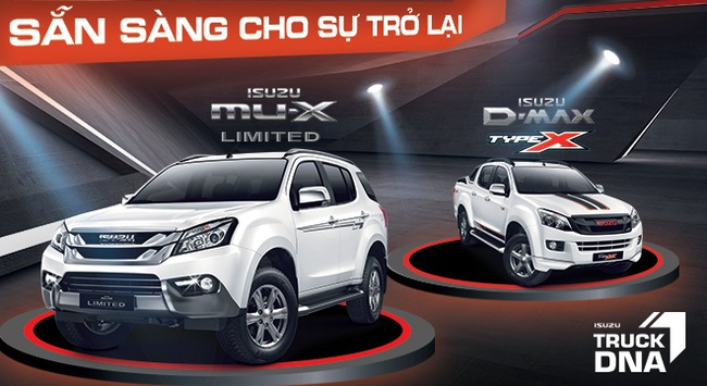 Isuzu đầu tư mạnh cho sự trở lại tại Vietnam Motor Show 2016