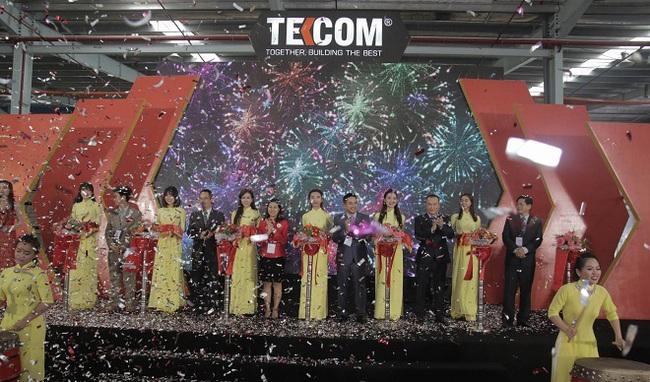 TEKCOM khánh thành nhà máy sản xuất ván ép công suất 132.000m3/năm