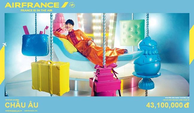 Ưu đãi từ Air France cho các hạng ghế cao cấp