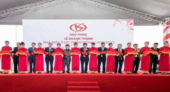 KIDO Group khánh thành nhà máy thực phẩm đông lạnh tại Bắc Ninh, củng cố vị trí số 1 ngành kem