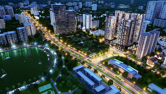 Dự án Việt Đức Complex nổi bật nhờ vị trí trung tâm khu vực Thanh Xuân