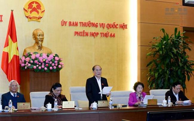 Khai mạc phiên họp thứ 44, Ủy ban Thường vụ Quốc hội