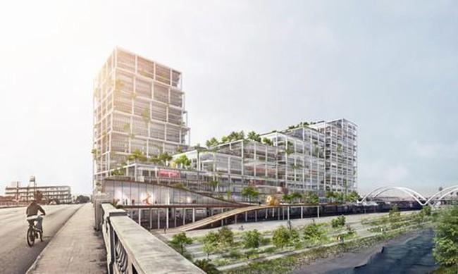 Dự án xây dựng khu phức hợp độc đáo tại Los Angeles