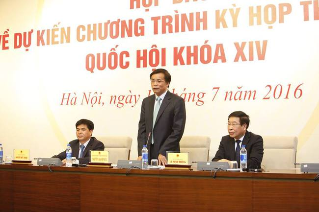 Sẽ bỏ phiếu kín bầu Chủ tịch Quốc hội, Chủ tịch nước và Thủ tướng trong 10 ngày tới