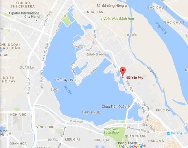 Hà Nội chấp thuận chủ trương đầu tư Khu hỗn hợp gần 3.000m2 tại số 153 Yên Phụ