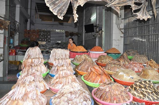 Các mặt hàng thủy hải sản miền Tây đang lên cơn sốt