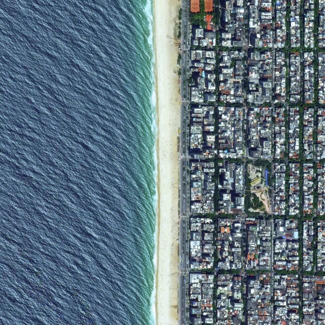 Bạn có dám chắc sẽ nhận ra những địa điểm này khi nhìn từ trên cao?