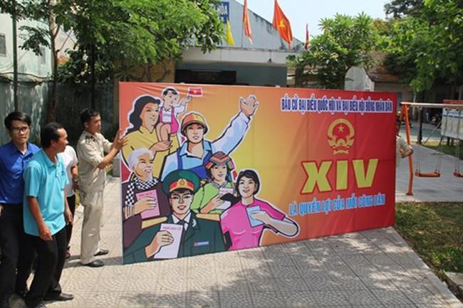Đà Nẵng gửi 20.000 tin nhắn mời người dân đi bầu cử