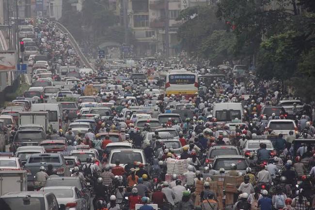 Thành phố toàn xe máy khó tiến tới thịnh vượng