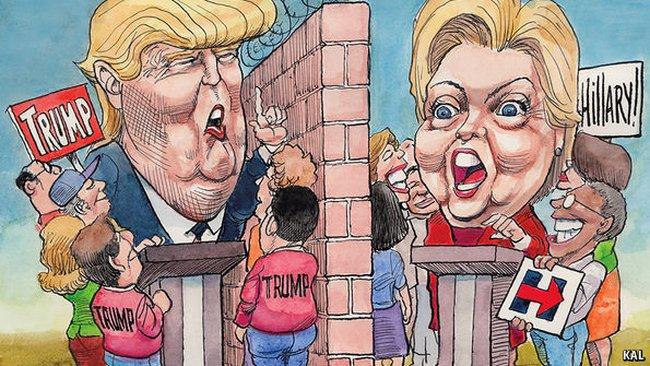 Bầu cử Tổng thống Mỹ 2016: Kết thúc không có hậu