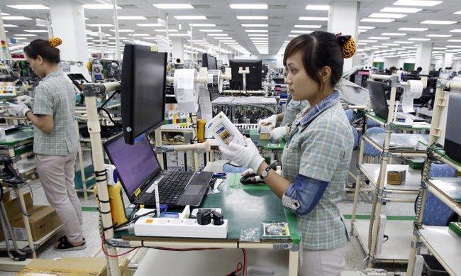 Xuất khẩu điện thoại và linh kiện thu nhiều ngoại tệ nhất