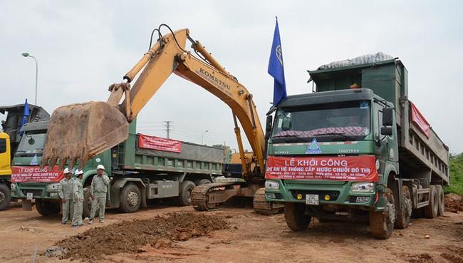 Nước sông Đà dùng ống Trung Quốc: Không thể giao khoán cho doanh nghiệp