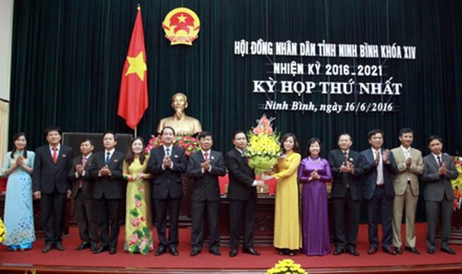 Ninh Bình có tân Chủ tịch HĐND tỉnh