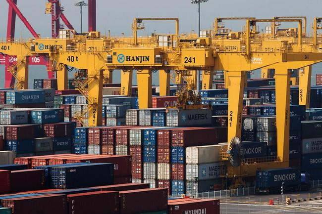 Tuyên bố phá sản, cổ phiếu của hãng tàu Hàn Quốc sụt giảm 30%