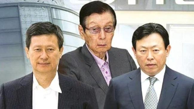 Nội chiến gia tộc ở Lotte