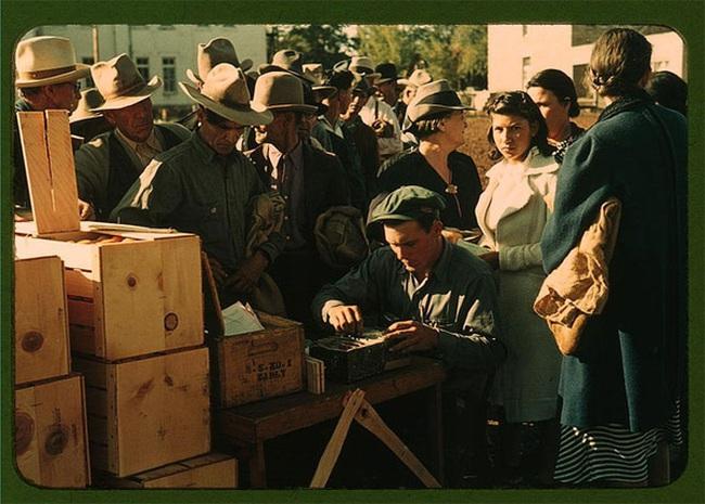 Những bức ảnh màu quý hiếm phác họa cuộc sống ở Mỹ thời Đại suy thoái