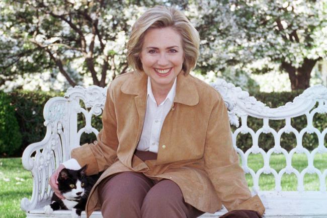 """""""Ngắt kết nối Internet và ngắm ảnh mèo"""": Cách giảm áp lực trong cuộc chạy đua bầu cử của bà Clinton"""