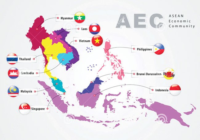 """AEC - """"Tia sáng"""" cho các nền kinh tế ASEAN năm 2016"""