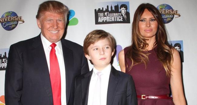 """Con trai út """"gây sốt"""" của Donald Trump vẫn học trường cũ và đây là cách các Tổng thống Mỹ chọn trường cho con"""