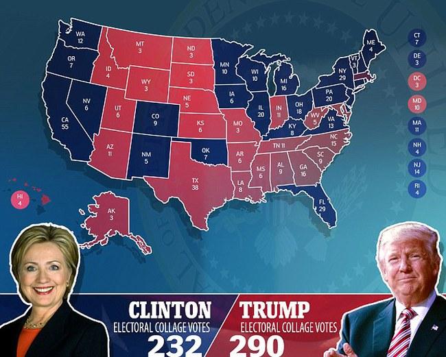 """Đại cử tri Mỹ bị quấy rối bởi """"fan cuồng"""" của bà Hillary Clinton"""