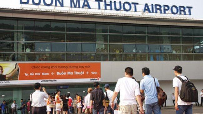 Sân bay Buôn Mê Thuột tạm đóng cửa