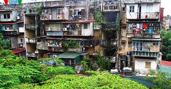 Cải tạo chung cư cũ ở Hà Nội: Nhúc nhích đến bao giờ?