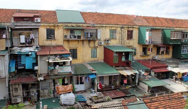 Hà Nội thúc xây dựng cơ chế đặc thù trong cải tạo chung cư cũ