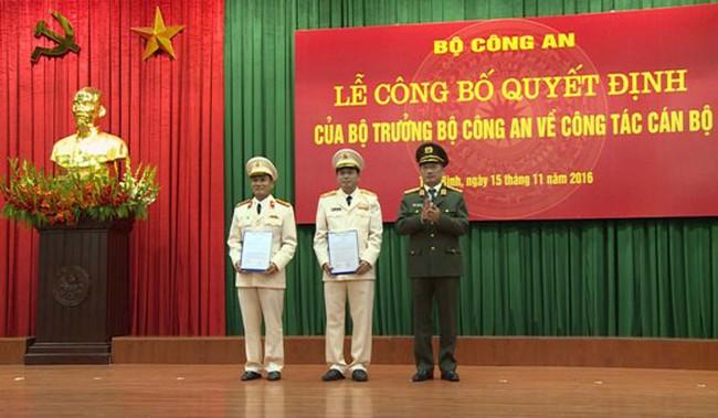 Bổ nhiệm, điều động nhân sự quân đội, công an, VKSNDTC