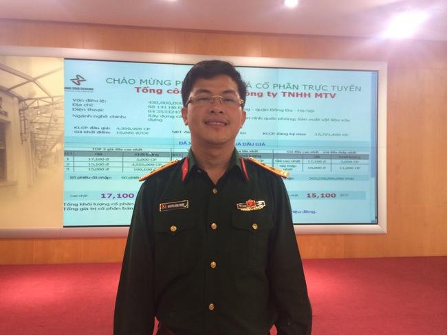 Ông Nguyễn Đăng Thuận: Sau cổ phần hóa, Tổng công ty 36 mở rộng đầu tư