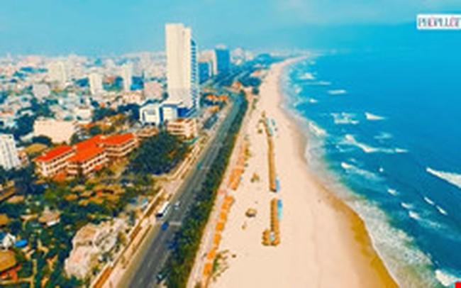 Toàn cảnh TP Đà Nẵng nhìn từ trên cao quay bằng flycam