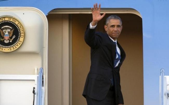 12h40 trưa nay, Tổng thống Mỹ Obama rời Việt Nam