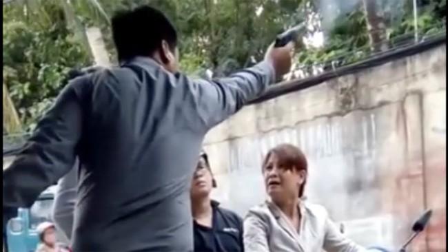 Diễn biến mới nhất vụ giám đốc công ty bảo vệ nổ súng uy hiếp phụ nữ