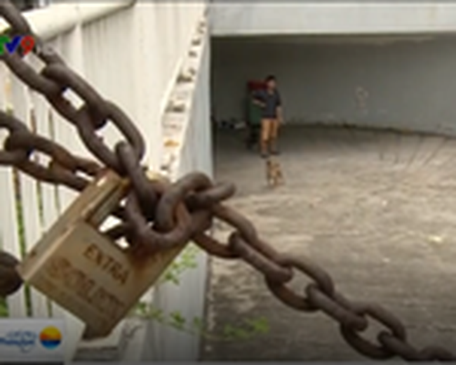 TP.HCM: Hòa giải mâu thuẫn, nhà xe mở cửa hầm chung cư