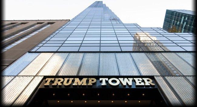 Khung cảnh nhộn nhịp ở tòa tháp Trump - điểm nóng nhất của New York