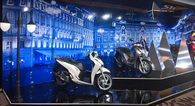 Honda ra mắt mẫu xe tay ga hạng sang SH 125i/150i mới