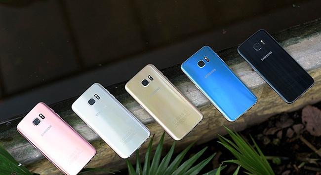Sắc Xanh Coral thổi tinh thần mới vào Galaxy S7 edge