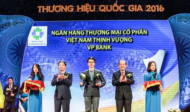 VPBank đạt 10 giải thưởng và chứng nhận trong năm 2016