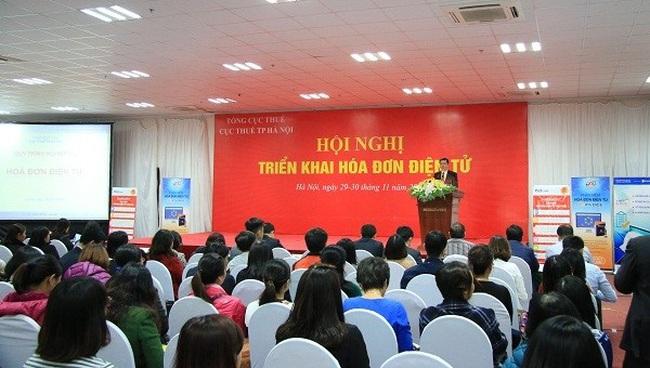 Cục Thuế Hà Nội: triển khai Hoá đơn điện tử cho 5.000 doanh nghiệp
