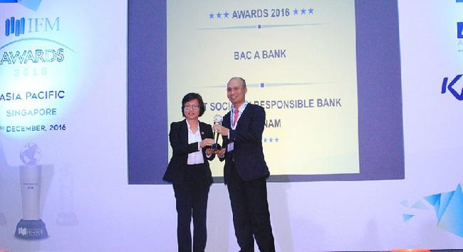 Ngân hàng Bắc Á được IFM bình chọn dẫn đầu về trách nhiệm xã hội Việt Nam