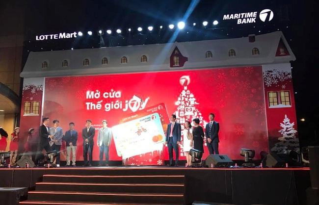 Ra mắt thẻ đồng thương hiệu LOTTE Mart – Maritime Bank