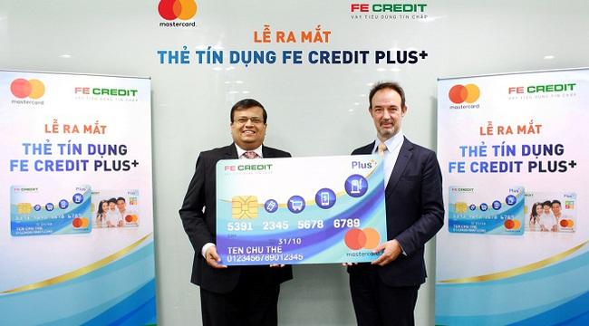 FE CREDIT ra mắt Thẻ tín dụng tiện ích FE CREDIT Plus+ MasterCard